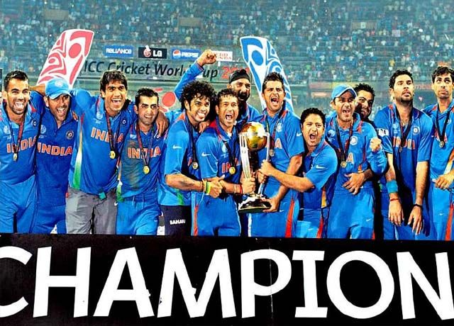 2011 cricket world cup india team