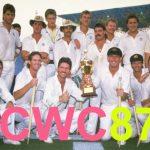 icc cricket world 2019- cwc 1987
