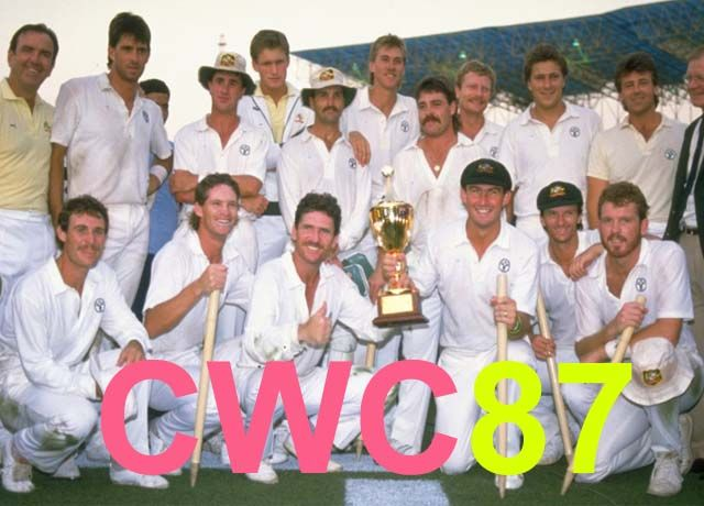 icc cricket world 2019- cwc 1987