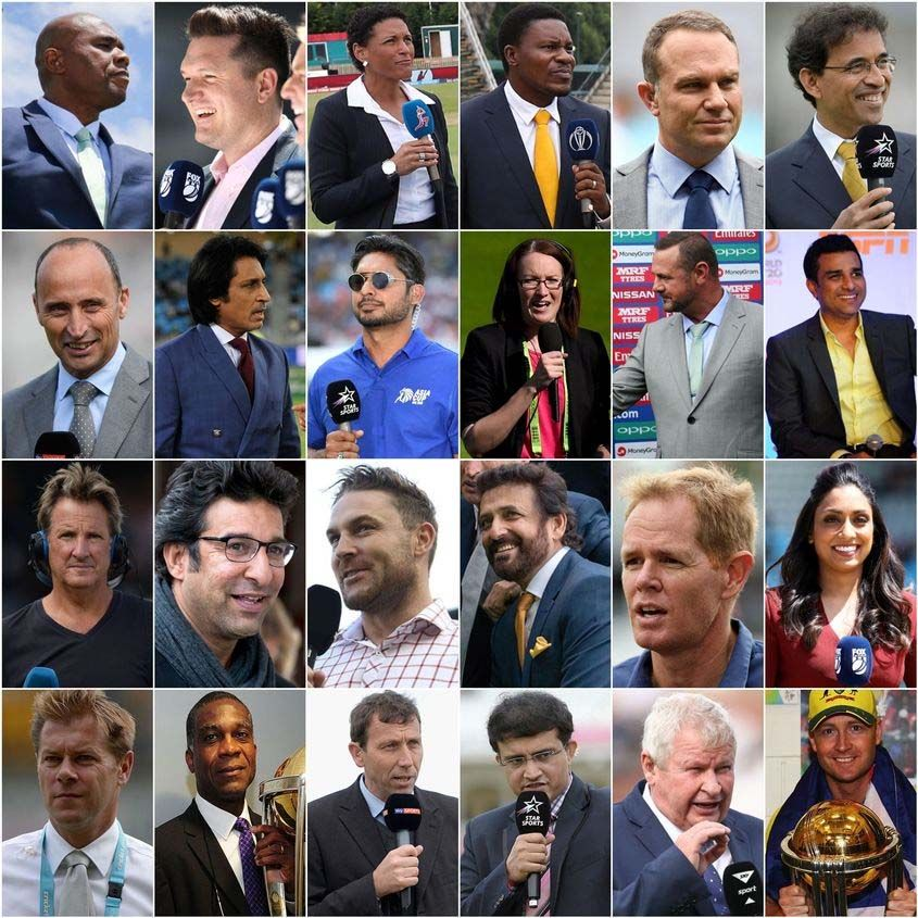 commentator for World Cup 2019,