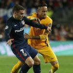 Neymar and Antoine Griezmann