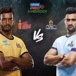 pro kabaddi 2019: Tamil Thalaivas vs Telugu Titans