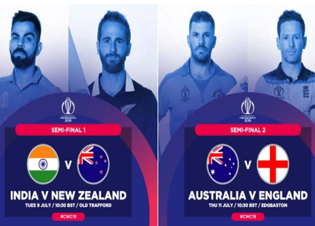 cricket world cup semi-finals