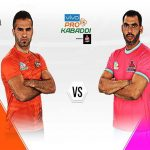 Pro Kabaddi 2019 : U Mumba vs Jaipur Pink Panthers Live Stream