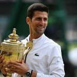 Novak Djokovic defeat Roger Federer to became the Wimbledon Champion