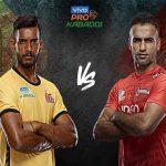 pro kabaddi 2019 Telugu vs U Mumba