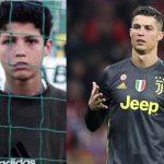 Why did Cristiano Ronaldo threw the chair on his teacher?