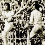 Amitabh Bachchan playing cricket
