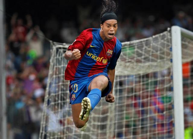 The most skill-full player of his generation - Ronaldinho