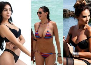 This is the beautiful wives of five footballer's, see photos