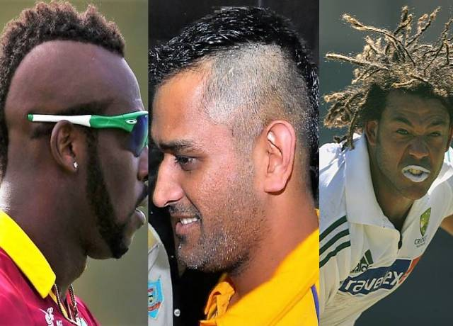 These cricketers came into the limelight by having strange hairstyles