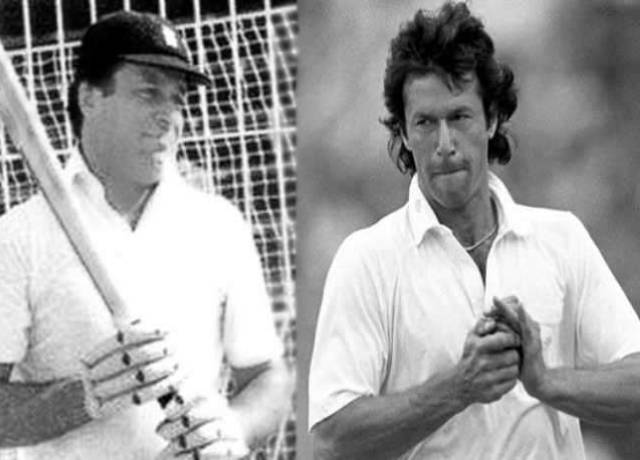 When Nawaz Sharif batted in place of Imran Khan
