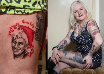 This Lady made 38 tattoos of Jose Mourinho on body