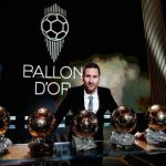 Lionel Messi wins record sixth Ballon d'Or