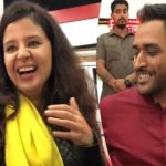 MS Dhoni shares throwback video with wife Sakshi