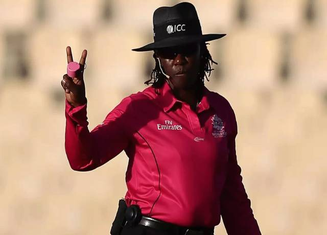 Williams set to become first woman third umpire in a Men's Cricket