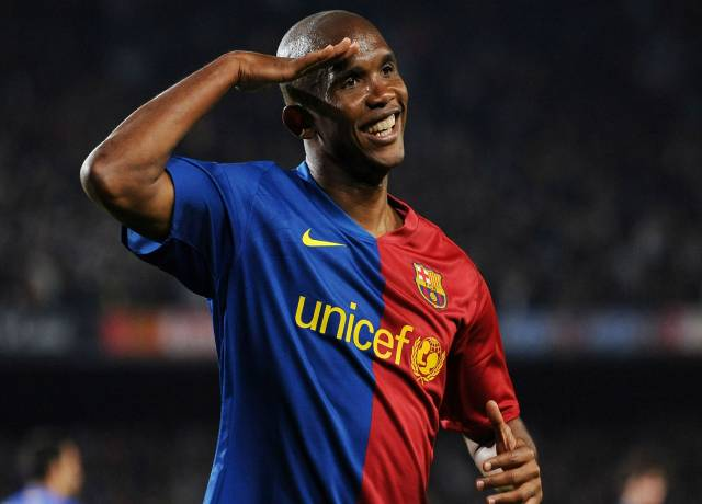 An athlete from Africa – Samuel Eto'o