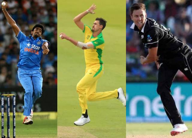 Top 5 current time with best yorker bowler