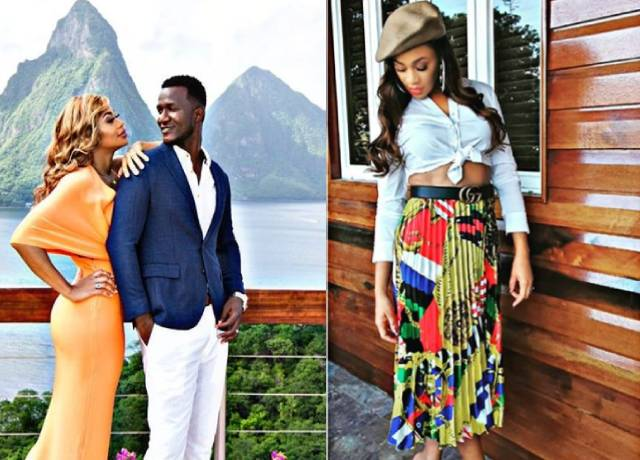 Windies Cricketer Daren Sammy and wife Cathy beautiful pictures