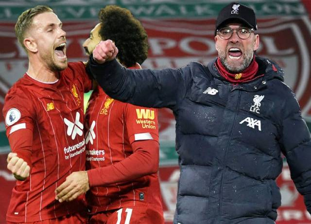 Liverpool win first Premier League title since 1990
